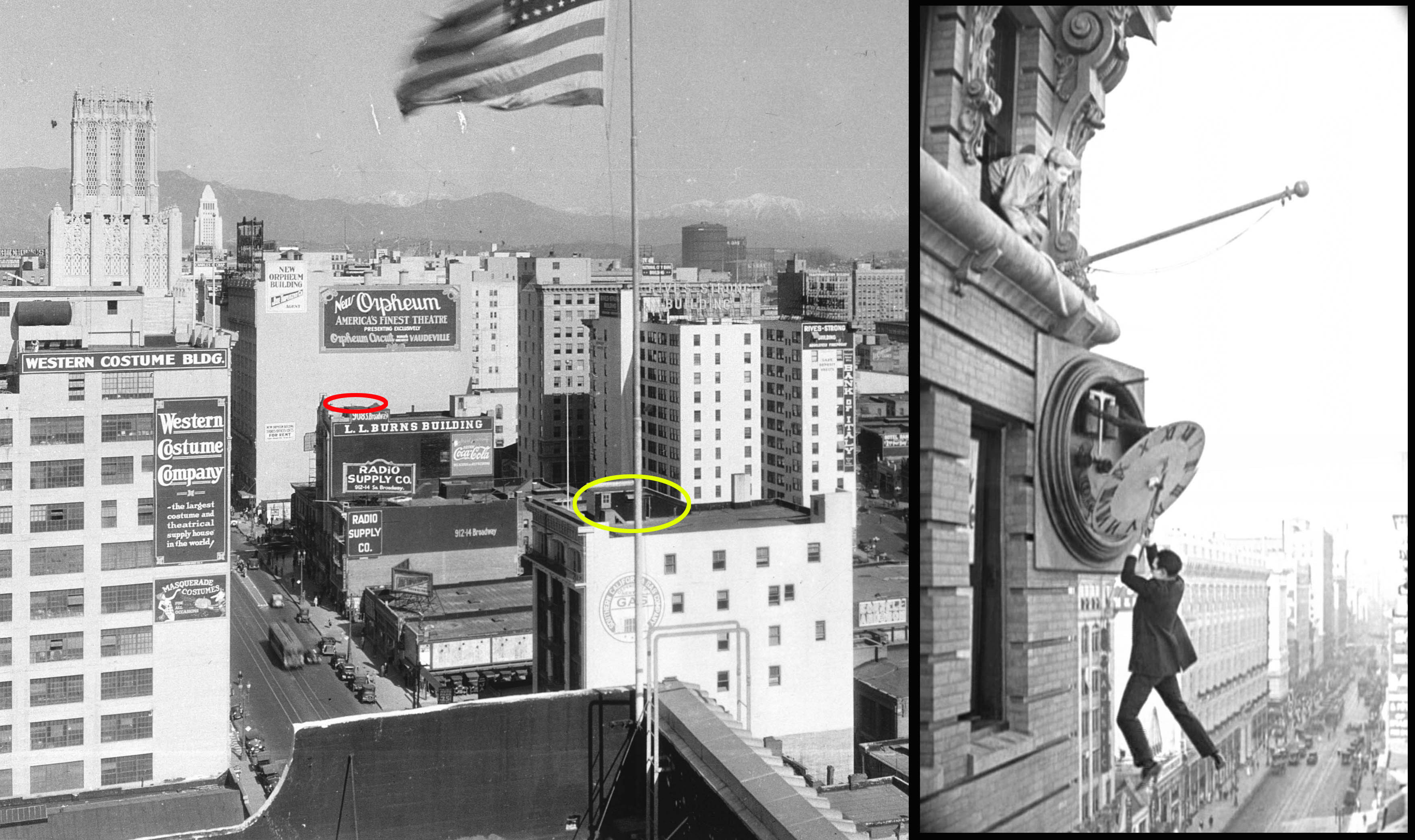 The Artist Locations Part 3, Harold Lloyd, and Safety Last ...