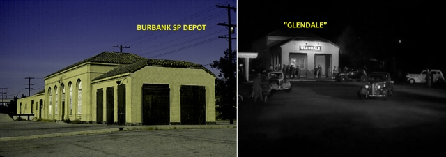 "Burbank plays ""Glendale"" in Double Indemnity"
