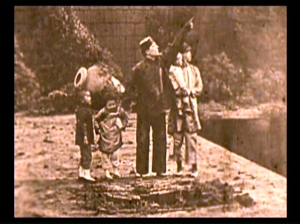 Buster and his Chinese family in Hard Luck