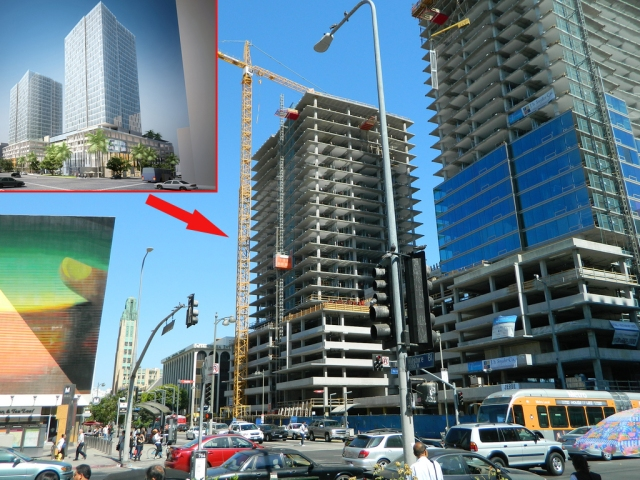 A similar 2013 view of the SE corner of Wilshire and Vermont.  LA.CURBED