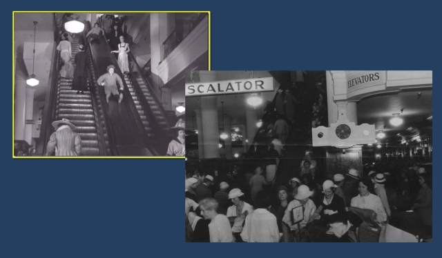 The interior of the May Co. department store - thanks to LA Daily Mirror