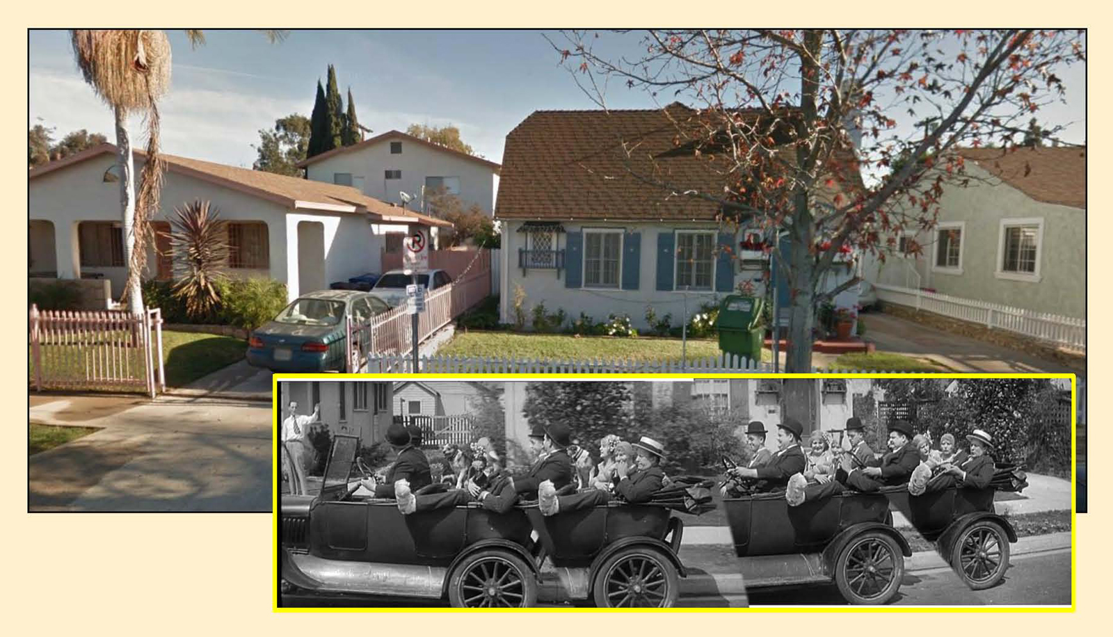 How laurel hardy filmed perfect day new discoveries for The laurel house