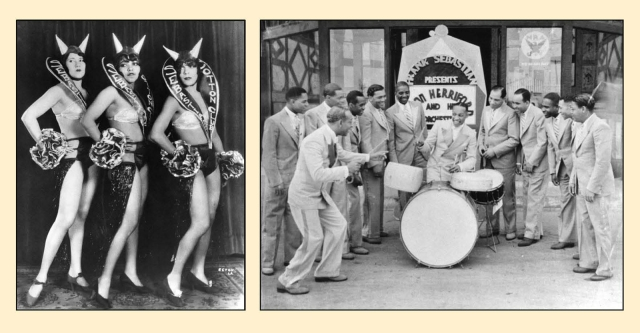 Some of the lively acts to appear at the Cotton Club.  LAPL and LAPL.