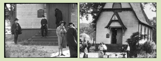 Chaplin filming The Pilgrim in Newhall (now part of Santa Clarita).