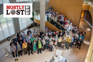 The friendly crowd of experts attending Mostly Lost 3.