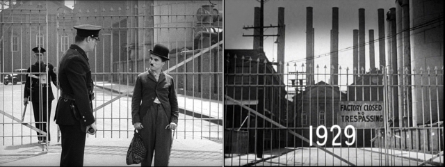 Matching views from Modern Times and Citizen Kane.