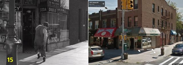 15 - Buzzin' Around - Roscoe runs into the corner drug store at E13th and Ave M.