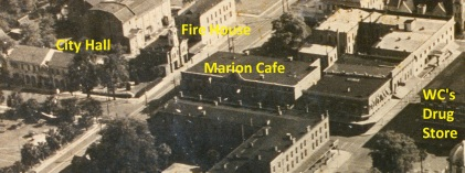 Marion Cafe aerial labels