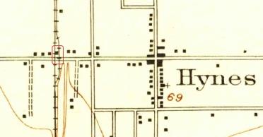 Hynes depot map
