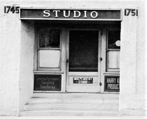 Norbig-Independent Studio at 1745-1751 Glendale Blvd 1917 Edendale California sign